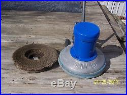 15 HILD LOW SPEED SCRUBBER SANDER POLISHER FLOOR BUFFER with PAD DRIVER