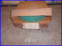 20 ea. (2 cases) Green Scrub Buffer Floor Pads 18 Diameter 1/4 Thin Line NOS