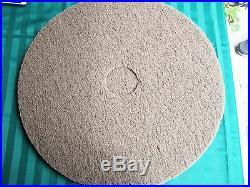 22 brown floor polishing/scrubbing pad box of 5