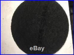 3M 7200 Stripping Pad, 13 In, Black, PK 5 Floor Buffer Stripping Burnisher