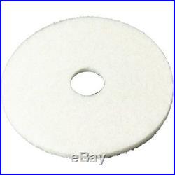 3M Floor Buffers & Parts White Super Polish Pad 4100, 27 Pad, Machine Use Case