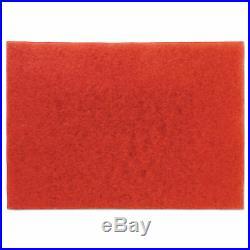 3M Low-Speed Buffer Floor Pads 5100 28 x 14 Red 10/Carton 59065