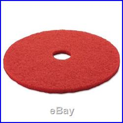 3M MMM08395 Red Buffer Floor Pad 5100 20 Red 5 Count