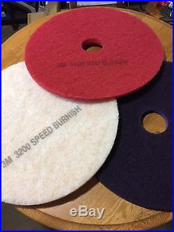 3m Scotch Brite Purple Diamond Floor Pad 20 Burnisher