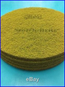3M Scotch Brite Sienna Diamond Floor Pad Plus 20 in 5 Case Buffer Burnisher Pad