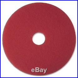 3m Red Buffer Floor Pad 20 Dia 5100 Series Boxed