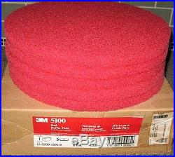 3m Red Floor Buffer Pad S 17 New (case Of 5) Ebay Best Price Ever