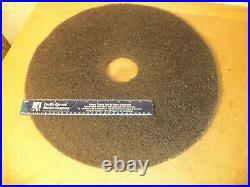 3m floor polishing pads 20 inch and smaller different types. 10 total