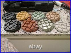 4 15 Pieces Marble Concrete Granite Diamond Floor Sanding Polishing Buffer Pads