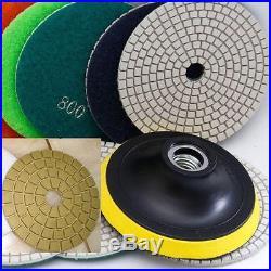 4 Diamond Polishing 115 Pad 5 Gloss Buffer Granite Stone Concrete Floor Masonry