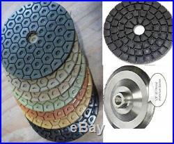 4 Granite concrete terrazzo polishing 35 pad 2 glazing buffer countertop floor
