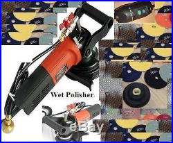4 wet polisher 185 Polishing Pad Concrete stone granite floor countertop quartz