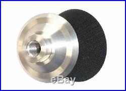 5 Aluminum Backer Backing Pad 7 Pieces for wet polisher concrete floor grinder