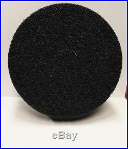 5 ETC Select Black Stripping 17 Floor Buffer Pads 1 Thick New High Quality