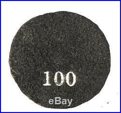 5 Pack 3 Transitional floor polishing pad for concrete 100 grit