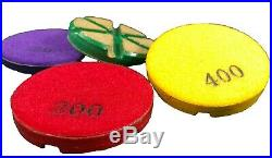 5 Pack 3 Transitional floor polishing pad for concrete 30 grit