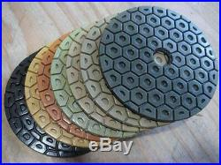 5 concrete floor grinder stone polisher polish pad 14 granite scratches remover