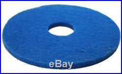 5 x Blue 16 Floor Cleaning Scrubbing Dry Buffing & Polishing Janitorial Pads