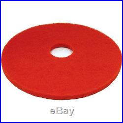 5 x Floor Buffer Pads Polisher Cleaning Dry Buffing & Final Polishing Red 18