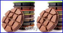 63 Piece 3 Diamond Polishing Pad (11 MM Thick) floor planetary polisher grinder