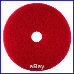 ACS Case of 2 Industries Red Buffer Floor Pad 27 Cleaning Maintenance