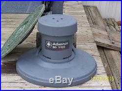 ADVANCE SD 5120 LOW SPEED SCRUBBER SANDER POLISHER FLOOR BUFFER with PAD DRIVER