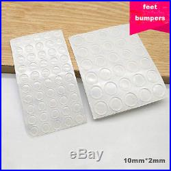 Adhesive Rubber Feet Clear Bumper Door Drawer Cabinet Buffer Pad Floor  Protector