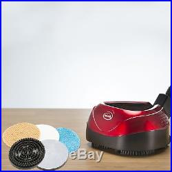 All in One Electric Floor Cleaner Polisher Scrubber Machine Interchangeable Pad