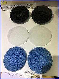 Boxed Ewbank Hard Floor Polisher Buffer Electirc Used Twice! + Inst & Pads U50