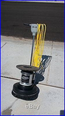 Brady industries low speed floor machine 17 inch ef0045 for 17 inch floor machine