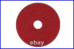 - Buffer Floor Pad 5100, 19, Red, 5/Carton