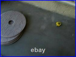 Burnish 5pcs of 18 and 4pcs of 20 Floor Buffer pads. All together