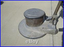 Clarke C-22 Low Speed Scrubber Sander Polisher Floor Buffer + 7 Brushes +42 Pads