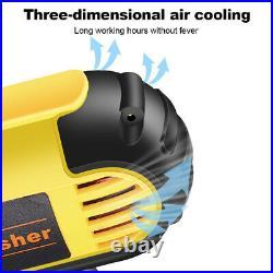 Car Floor Polisher Buffer Polishing Machine Kit Waxing Tool Buffing Pad Bonnet