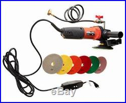 Ccpolset 5 concrete counter top cement floor polisher grinder and diamond pad