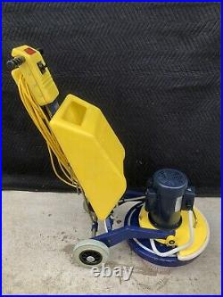 Cimex 3 Head Carpet / Hard Floor Scrubber, Encapsulation With Drivers Carpet Pads