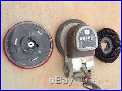 Clark used floor polisher fm 1700 sander buffer burnisher for 17 floor buffer pads