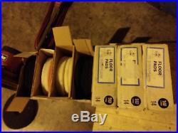 Clarke VP-16 16 Floor Polisher Sander Buffer Burnisher + 31 pads included
