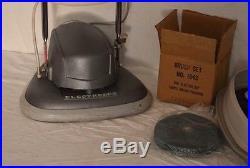 Clean Vintage Electrolux B-8 Floor Carpet Rug Shampooer Buffer Polisher NOS Pads