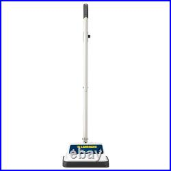Cleaning Machine Hard Upright Floor Polisher With Buffing Pads Twin Brushes