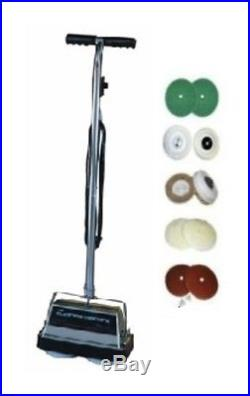 Corded Floor Polisher Scrubber 2 Speed 4.2 amp Motor Brush Buffing Pads Included
