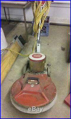 Dayton 3Z778 High Speed Floor Buffer Burnisher 1100 RPM Pad Holder Measures  18