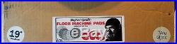ETC Floor Machine (Vacuum Cleaner) 19 Tan Buffer Pads 5/Case New Old Stock