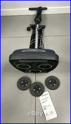 Electrolux B114 Hard Floor Polisher scrubber Oak Wax & 2 sets of Brushes & Pads