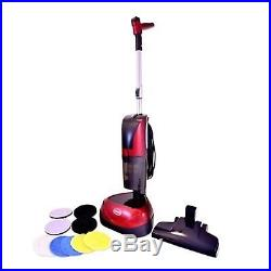 Ewbank 4-in-1 Floor Cleaner Scrubber Polisher & Vacuum (Includes All Pads)