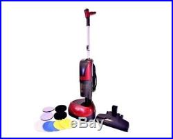 Ewbank 4-in-1 Floor Cleaner, Scrubber, Polisher & Vacuum (Includes All Pads)