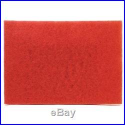 Floor Machine Pads 3M(TM) Red Buffer 5100, 20 X 14 In, Per Case