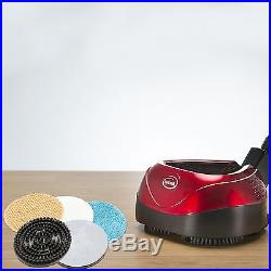 Floor Polisher Buffer Machine Scrubber Burnisher Lightweight Electric Pad Red