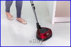 Floor Polisher Dual Rotating Discs with Reusable Pads Hard Floors Laminate Wood