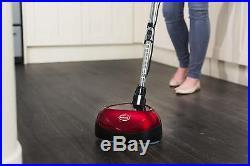 Floor Polisher Interchangeable Pad Telescopic Handle 24 cm 2200rpm 160 Watts Red